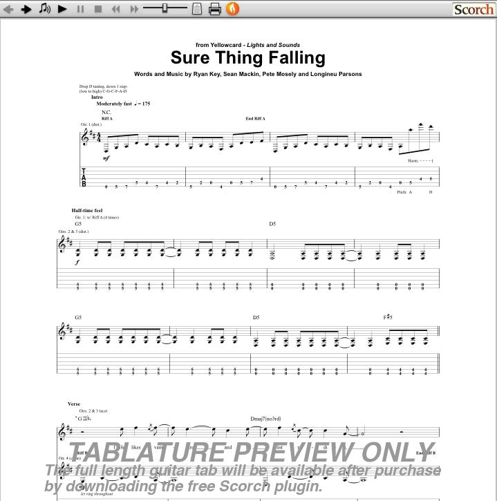 Colorful John Mayer Free Fallin Chords Image - Beginner Guitar Piano ...
