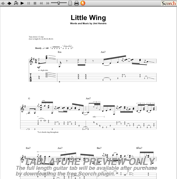 Funky Little Wing Guitar Chords Collection - Guitar Ukulele Piano ...